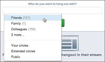 google plus start videoconference hangout 4