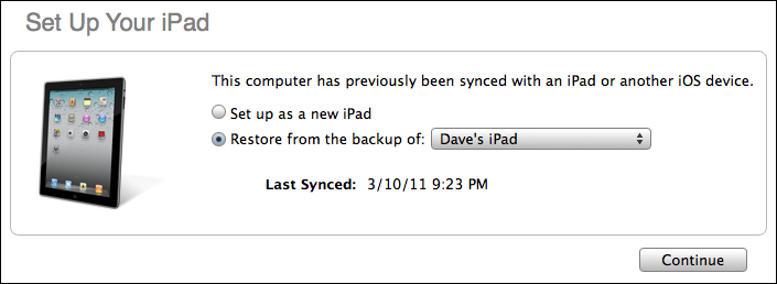 Fastest way to setup a new iPad 2 (iPad2)? - Ask Dave Taylor