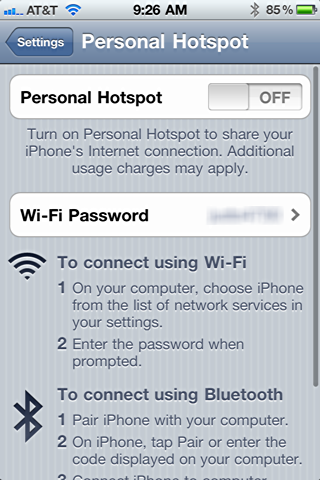 iphone 4 personal hotspot 1