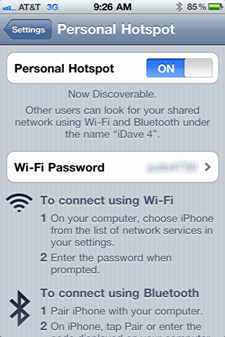 iphone 4 personal hotspot 2