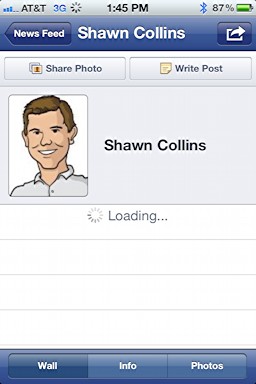 how to change my name on facebook on iphone