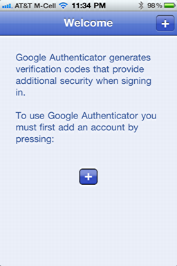 iphone google authenticator 2
