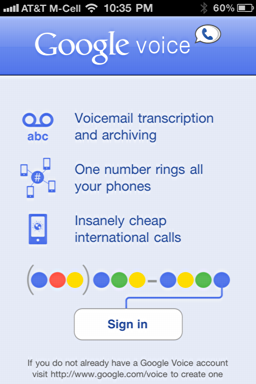 iphone google voice login 1