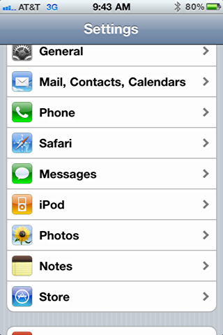 iphone ipod settings 2