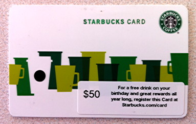 iphone starbucks mobile card new 1