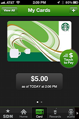 Merge Starbucks cards in the iPhone Starbucks app? - Ask Dave Taylor