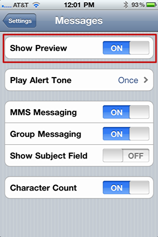 how to stop incoming text messages on iphone