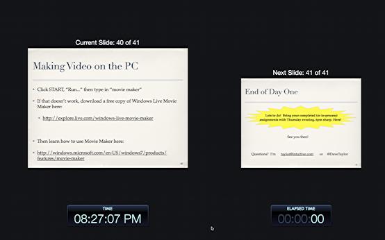 keynote presentation screen tricks 1