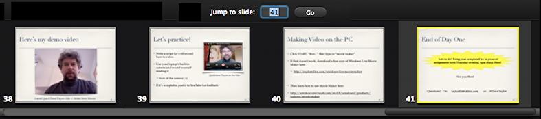 keynote presentation screen tricks 3