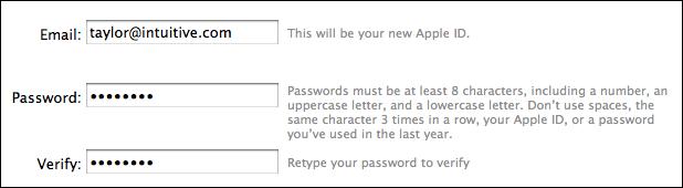 mac change itunes store app password 4