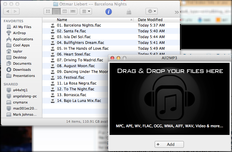 mac convert flac mp3 audio 1