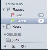 mac lion apple mail flags 4