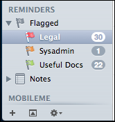 mac lion apple mail flags 5
