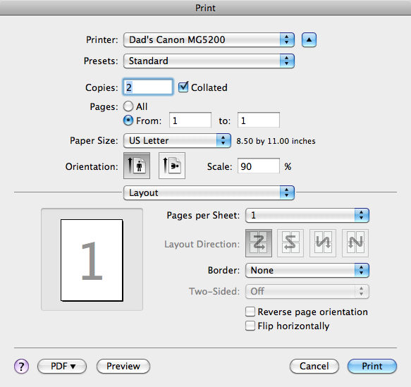 how to add printer to my imac