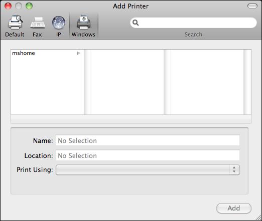 mac share windows pc printer 3