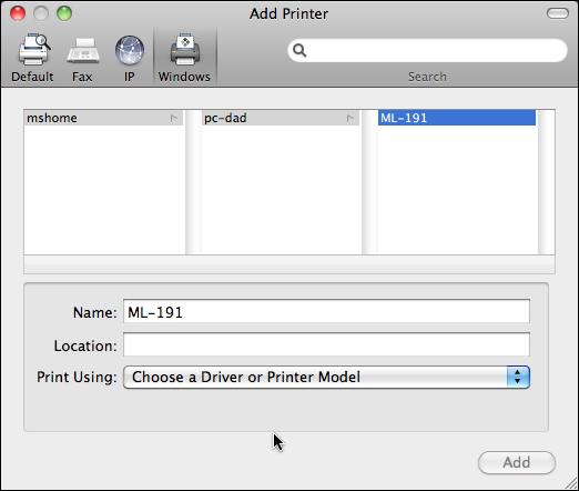 mac share windows pc printer 4