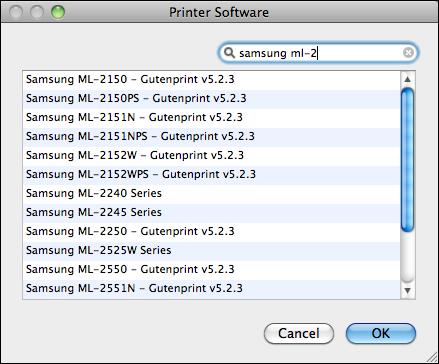 Samsung 1610 ml printer