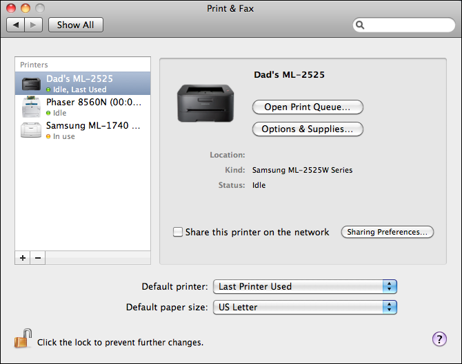 how to connect my mac with my printer