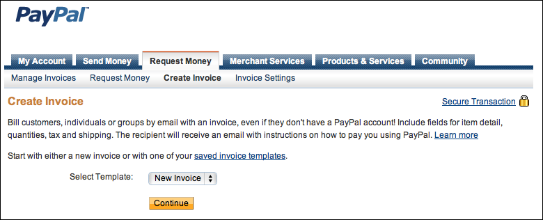 How Can I Send A Paypal Invoice Ask Dave Taylor - How to create an invoice paypal