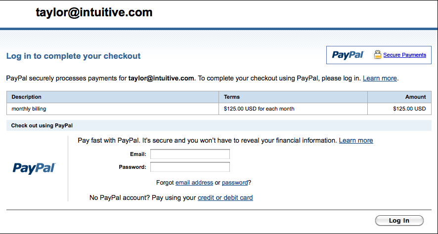 how to create a pay pal link on your website