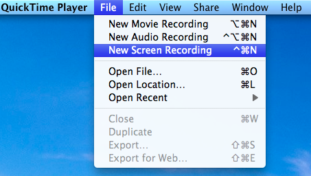 quicktime record screen 1