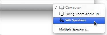 remote wifi speakers itunes