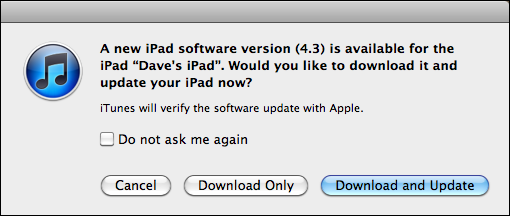 update ipad ios firmware 2