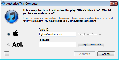 win7 itunes too many store authorizations 2