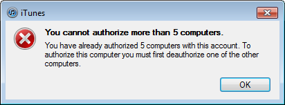 authorize-more-than-5-computers