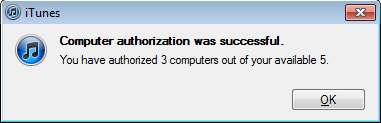 win7 itunes too many store authorizations 9c
