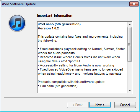 windows 7 ipod reformat itunes 8