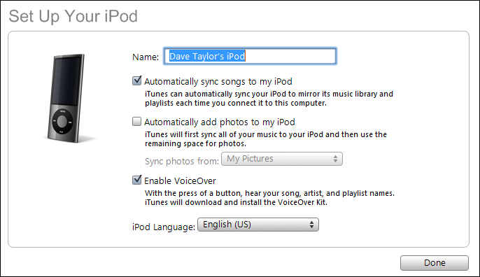 windows 7 ipod reformat itunes 9c