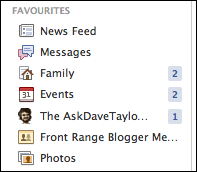 facebook add favorite 5