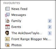 facebook add favorite 5