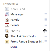 edit add to my facebook favorites list ask dave taylor