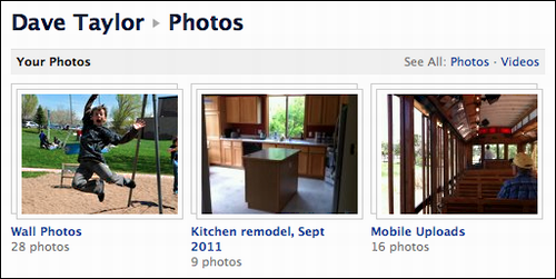 How to add pictures to a facebook album