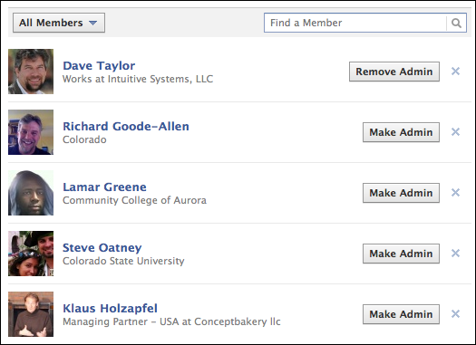 How do i delete a facebook group v2 ask dave taylor facebook delete group 4 ccuart Choice Image