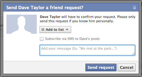 how do i invite someone a friend to join facebook ask dave taylor