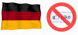 german facebook like banned