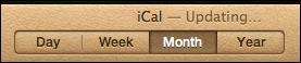 ical empty icloud 12