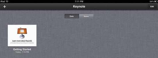 ipad delete keynote presentation 9