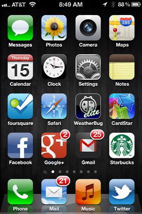 iphone ipad move app icons 1