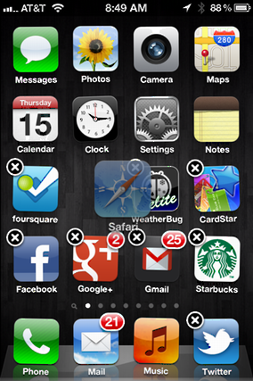 how to rearrange apps on iphone how do i rearrange or move app icons on my iphone 5274