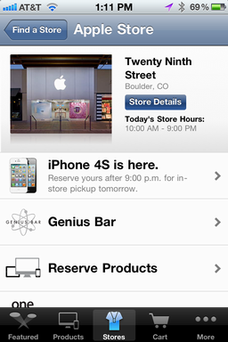 iphone make apple store genius bar appt 3