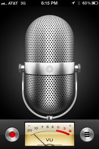 iphone record voice memo 2