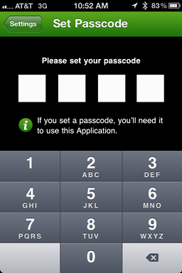 iphone starbucks password 3