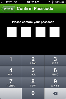 iphone starbucks password 4