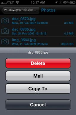iphone wi drive 11