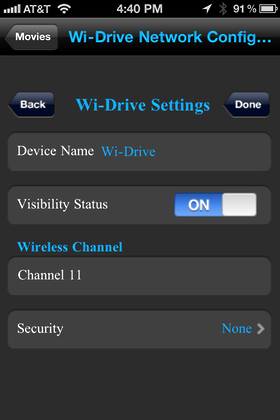 iphone wi drive 12