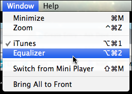 itunes equalizer 1